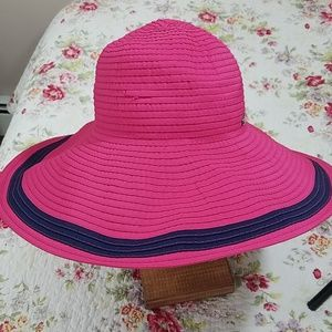 Ralph Lauren,  hot pink with navy blue stripe